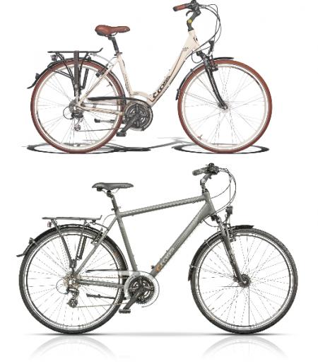 Градски, хибридни велосипеди